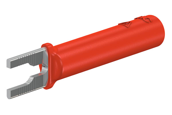 Product image for 4MM ADAPTER RED