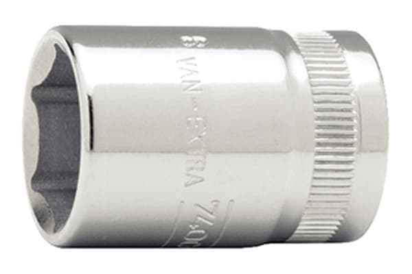 Product image for 3/8 in sq drive socket, 12mm
