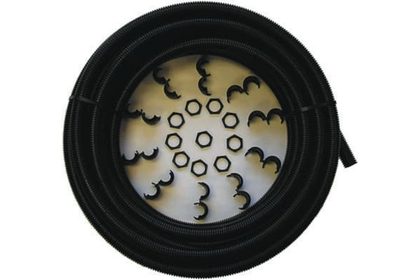 Product image for Blk polyprop IP54 contractor pack, 20mm