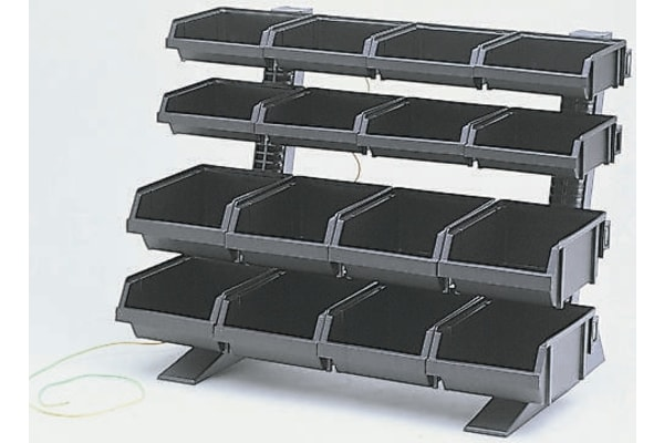 Product image for ANTISTATIC TABLE TOP 16 BINS RACK KIT 1