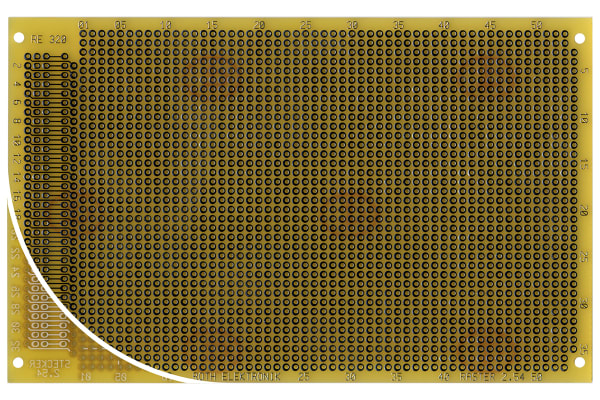 Product image for 1SIDED DIN CONN PC CARD W/MATRIX,RE320LF