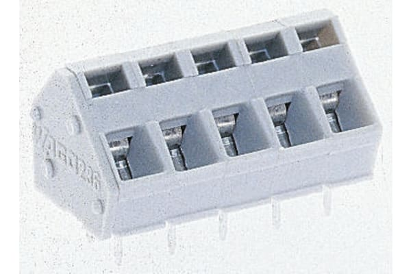 Product image for 1 WAY STANDARD TERMINAL,5/5.08MM PITCH