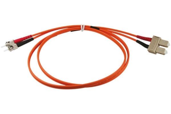 Product image for Duplex ST-SC patch lead,62.5/125um 3m