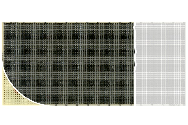 Product image for PROTOTYPING BOARD CEM3 100X220 RE210-S2