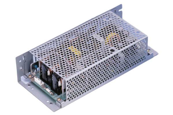Product image for Cosel, 225W AC-DC Converter, 5 V dc, 24 V dc, Enclosed