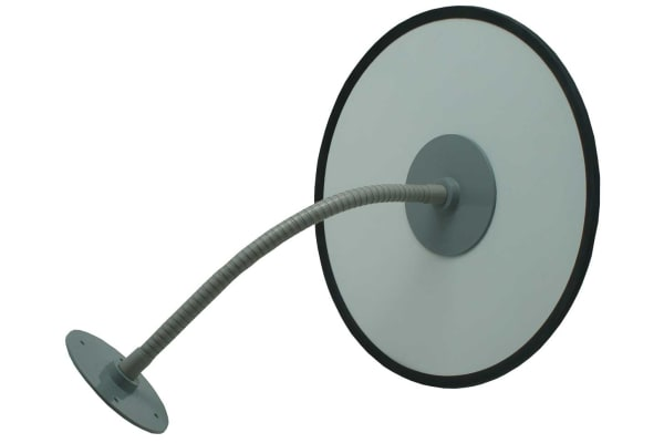 Product image for RS PRO Glass Indoor, Outdoor Mirror, Circular