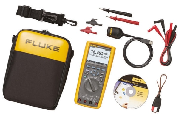 Product image for Fluke 287 Multimeter & FVF Software kit