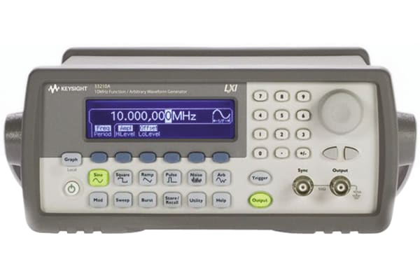 Product image for Keysight Technologies 33210A Function Generator 10MHz (Sinewave) GPIB, LAN, USB