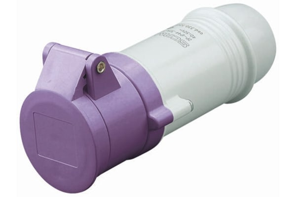 Product image for 16A 2P 20-25V Low Voltage Connector IP44