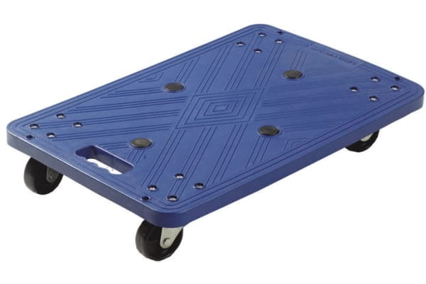 Product image for Blue Plastic Dolly