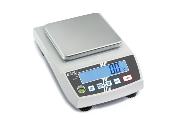 Product image for Kern Weighing Scale, 2.5kg Weight Capacity Type B - North American 3-pin, Type C - European Plug, Type G - British 3-pin