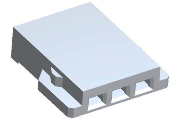 Product image for Receptacle Housing, 2.0mm, WTW, 3w