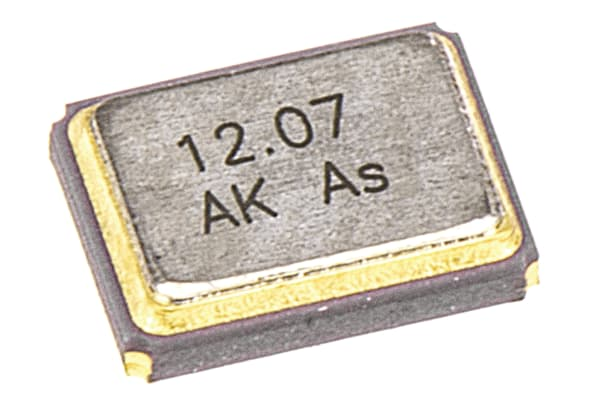 Product image for AKER 20MHz Crystal ±30ppm SMD 4-Pin 3.2 x 2.5 x 0.75mm