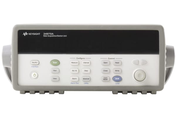 Product image for Keysight Technologies 34970A Data Acquisition Switch Unit, 3Msps