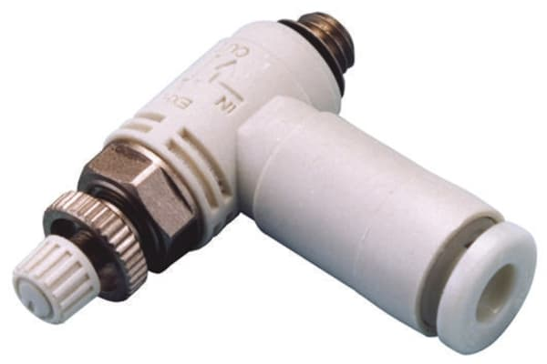 Product image for FLOW CONTROLLER M5 TO 4MM
