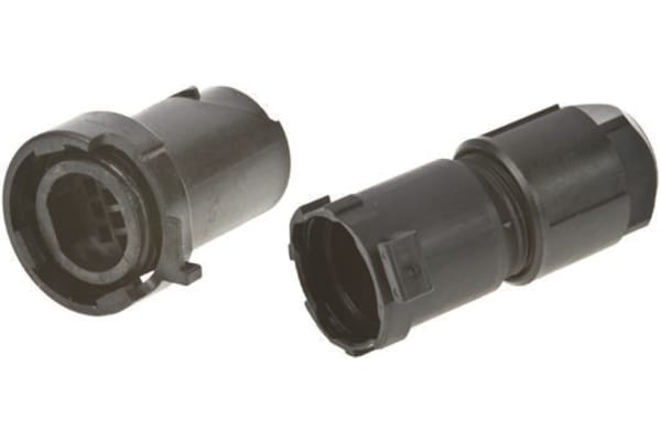 Product image for 10 WAY IN LINE CABLE RECEP 6.5-8.0 DIAM