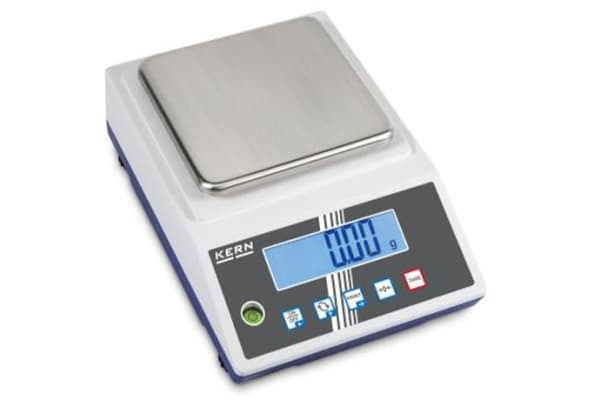 Product image for Kern Weighing Scale, 2kg Weight Capacity Type B - North American 3-pin, Type C - European Plug, Type G - British 3-pin
