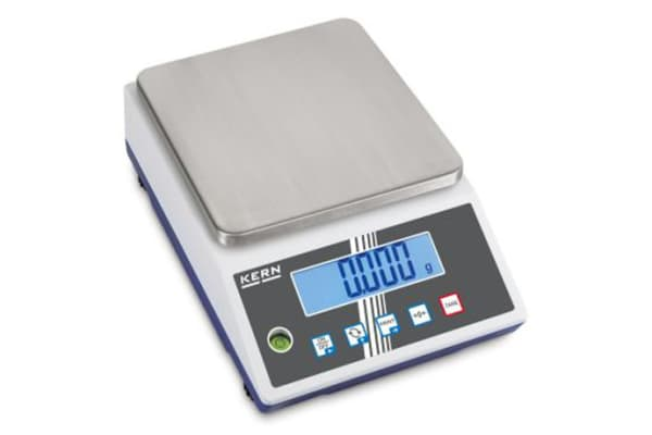 Product image for Kern Weighing Scale, 6kg Weight Capacity Type B - North American 3-pin, Type C - European Plug, Type G - British 3-pin