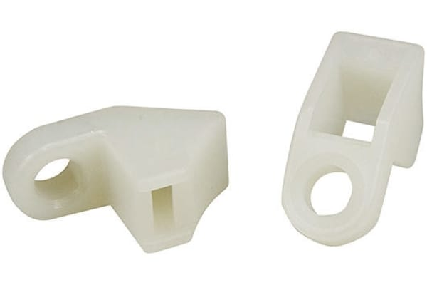 Product image for Cable mount PA66 27x12x16mm natural LKM