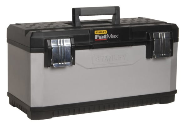 """Product image for 23"""" FATMAX METAL PLASTIC TOOLBOX"""