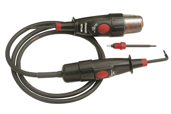 Product image for John Drummond DRUMTL20, LED Voltage tester, 500V ac/dc, Mains Powered, CAT III 1000V