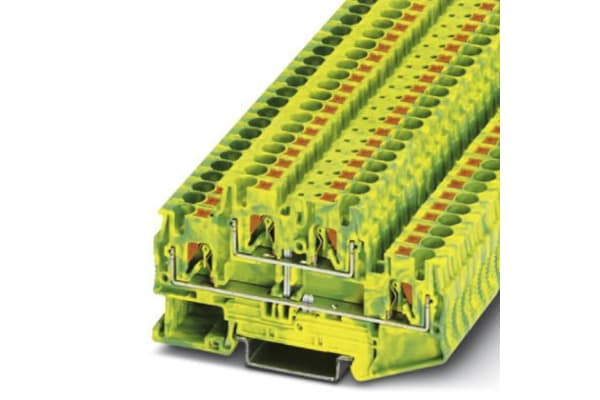 Product image for 4mm Double level Ground Terminal