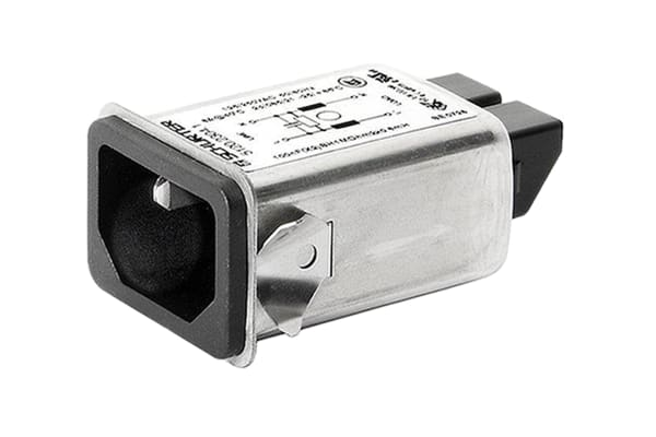 Product image for 5120 FILTERED INLET 1A SNAP-IN