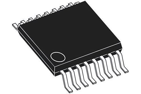 Product image for Analog Switch Quad SPST 16-Pin TSSOP