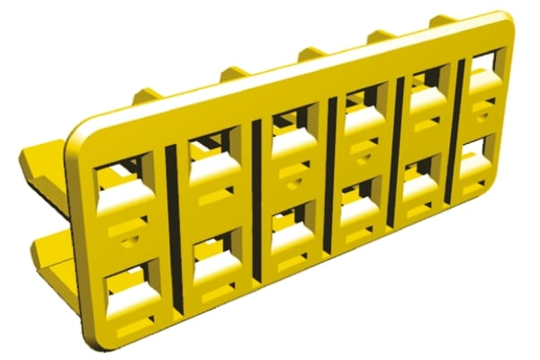 Product image for 12 W Econoseal J Mk II double lock plate