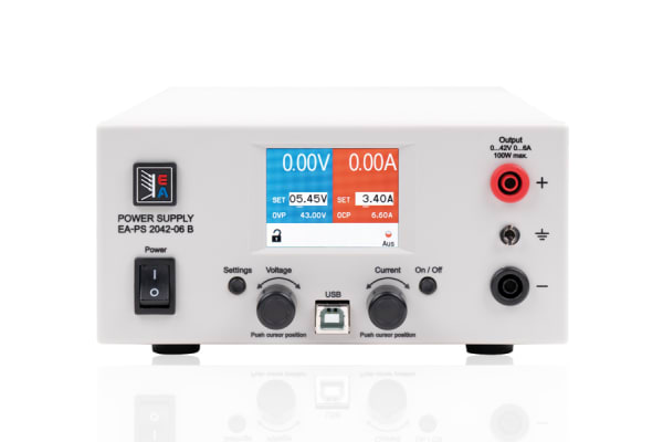 Product image for EA Elektro-Automatik Bench Power Supply, , 160W, 1 Output , , 0 → 42V, 10A