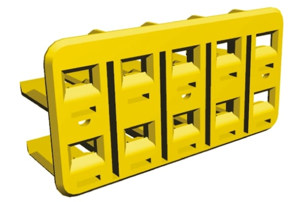 Product image for 10 W ECONOSEAL J MK II DOUBLE LOCK PLATE