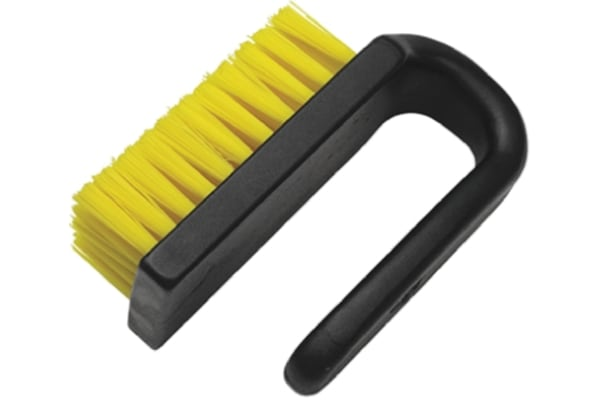 Product image for Curved ESD Brush, Nylon, PP