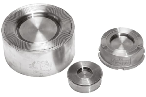 Product image for RS PRO Stainless Steel Single Non Return Valve