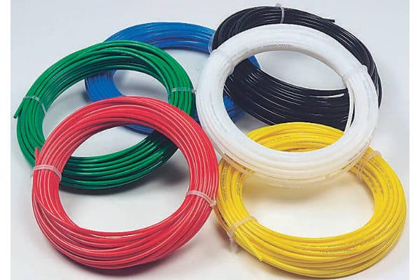 Product image for Green light duty nylon tube,30m Lx8mm OD