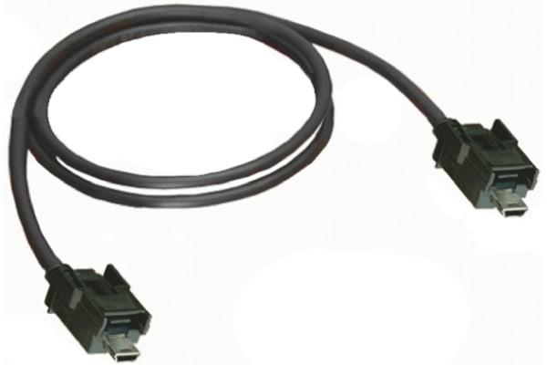 Product image for Mini B plug to mini B plug cable assy