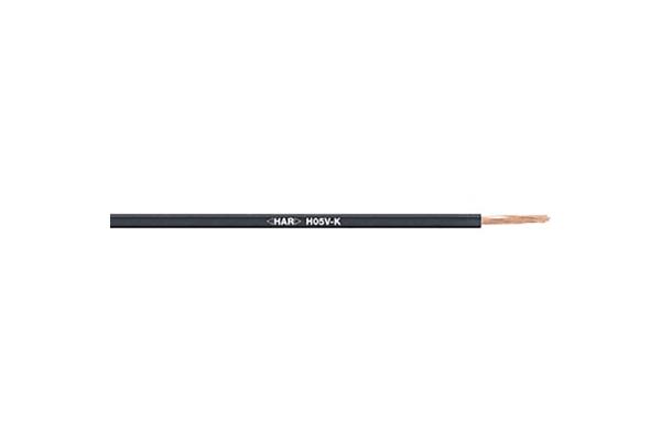 Product image for H05 V-K Single core Black 1.0mm