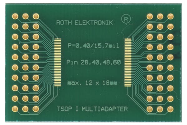 Product image for SMD MULTI-ADAPTOR TSOP I,28-60PIN 0.40MM