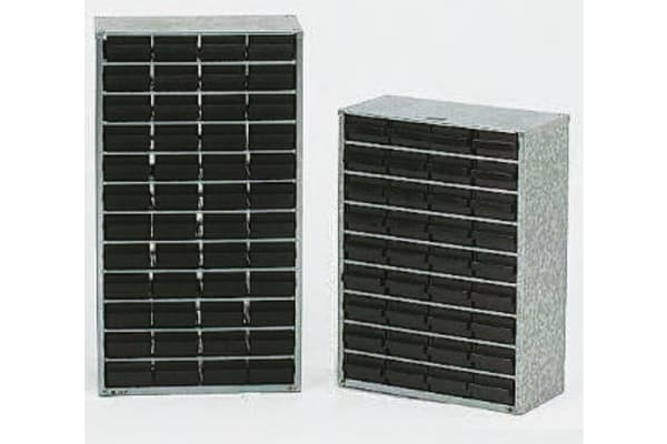 Product image for 60 DRAWER STORAGE CABINET,552X306X150MM