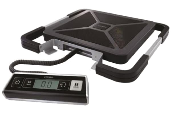 Product image for Dymo Weighing Scale, 100kg Weight Capacity Type G - British 3-pin