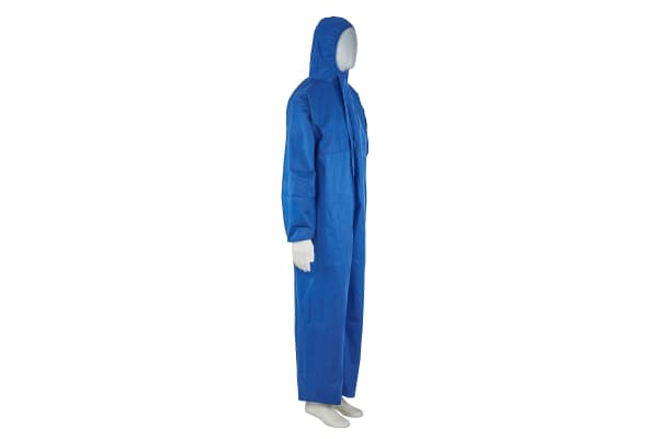 Product image for 3M 4515 Blue Protective Coverall, M