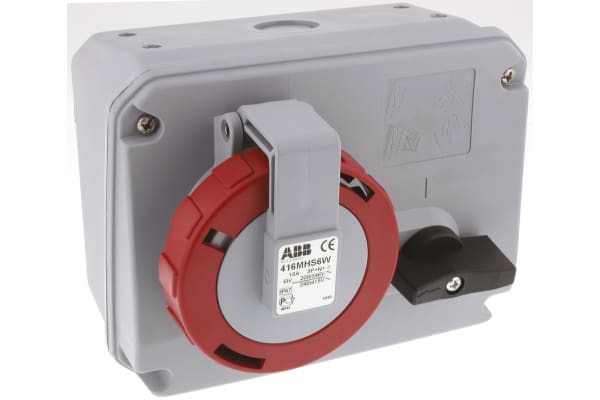 Product image for SWITCH INTERLOCK HORIZONTAL 16A, 400V