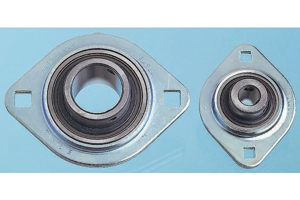 Product image for 2 BOLT FLANGE BEARING UNIT,SLFL 16MM ID