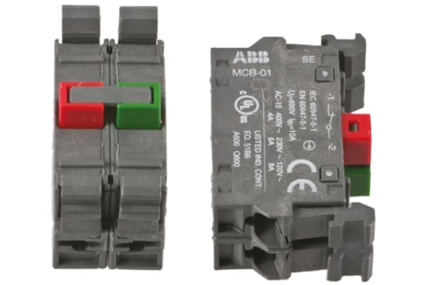 Product image for CONTACT BLOCK 1NO + 1NC