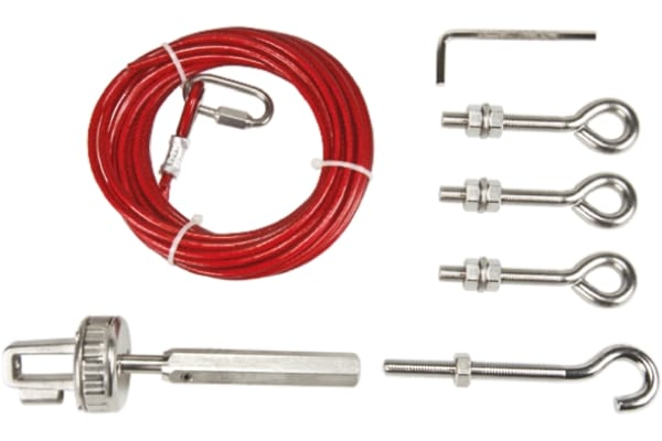 Product image for Rope kit,stainless steel,5m