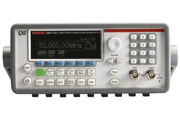 Product image for Keithley 3390 Function Generator 1μHz (Sinewave) GPIB, LAN, LXI-C, USB