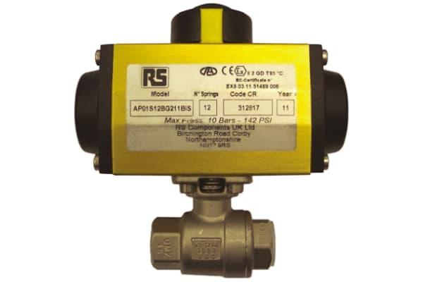 Product image for 2in. BSP S/Steel B/Valve w/ DA Actuator