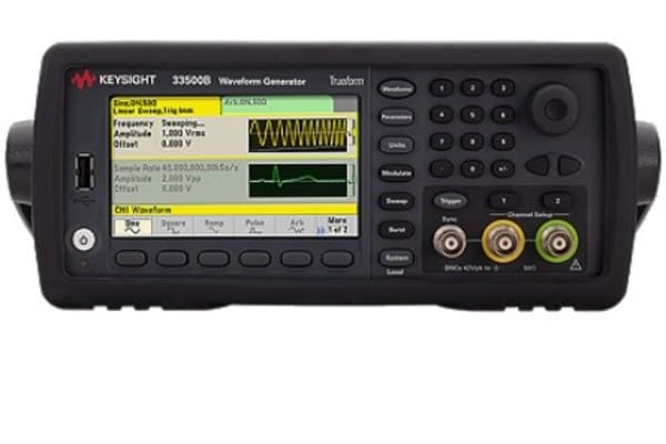 Product image for Keysight Technologies 33510B Function Generator 20MHz (Sinewave) Ethernet, GPIB, LAN, USB