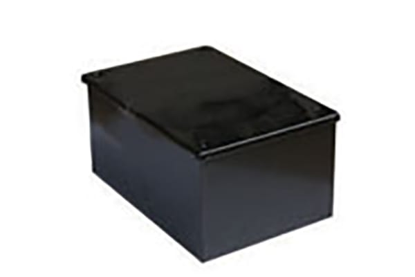 Product image for Adaptable Box 75x75x50mm Black Enamel