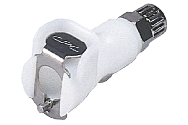 Product image for 1/4IN. OD HOSE SHUT-OFF COUPLING