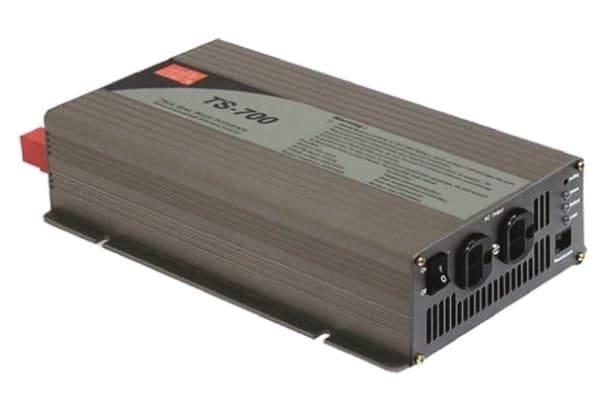 Product image for Power Inverter,Pure Sine Wave,24V,700W